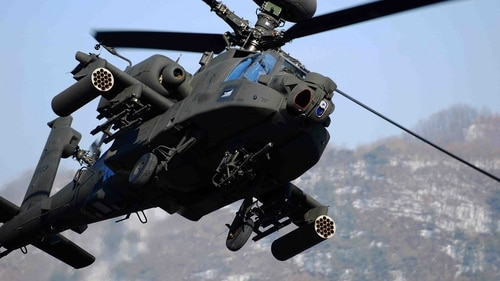 The Netherlands is prepared to spend more than $1 billion to upgrade its Apache AH-64D fleet to a more advanced configuration. (U.S. Army)
