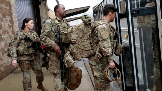 There could be more troops heading to Afghanistan to help with the drawdown. (Chris Seward/AP)