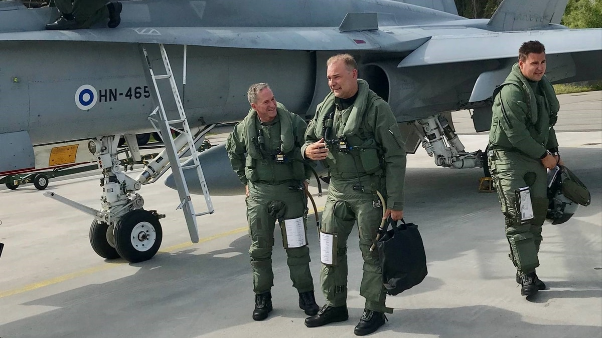 Finland's Air Force chief tackles recruiting challenges and its