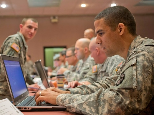 The House Armed Services Committee is looking at the prospect of expanding the capacity of America's cyber power. (Georgia Army National Guard photo by Staff Sgt. Tracy J. Smith)