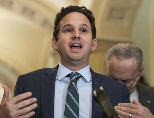 Sen. Brian Schatz, D-Hawaii, led the introduction of a bill that would require agencies to involve employees in pandemic response plans. (Alex Brandon/AP)