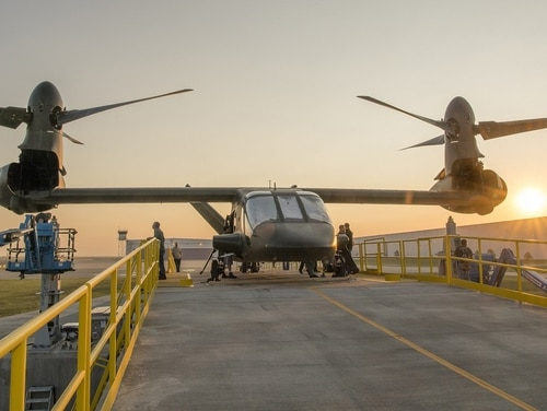 Bell Helicopter's V-280 Valor is part of the Joint-Multi Role demonstration being conducted ahead of the U.S. Army's Future Vertical Lift program of record. Mission systems are being incorporated into the FVL program in a separate effort. (Courtesy of Bell Helicopter)