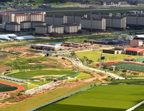 At nearly $11 billion, Camp Humphreys is a