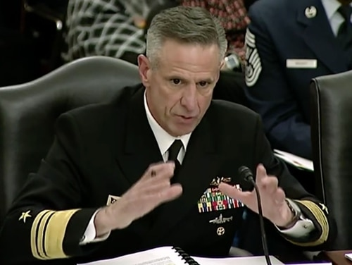 Chief of Naval Personnel Vice Adm. Robert Burke wants educational opportunities to expand for enlisted sailors. (Department of Defense)