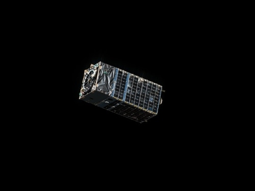 Kestrel Eye is one of several small experimental imagery satellites the U.S. Army has launched in recent years. (U.S. Army)