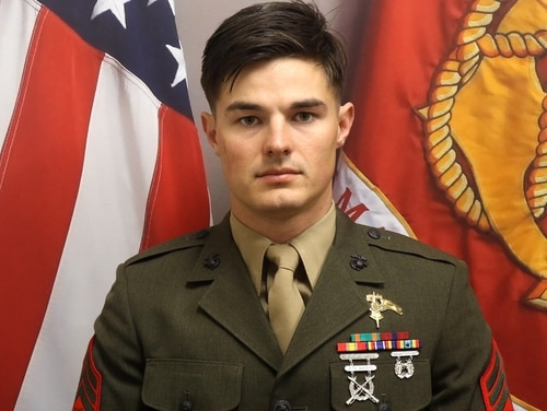 Staff Sgt. Joshua Braica, a Critical Skills Operator with 1st Raider Battalion, died April 14, 2019, following an MRZR accident. (Marine Corps)