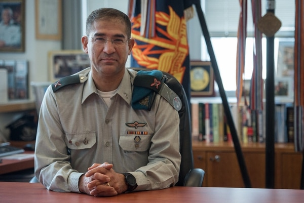 Brig. Gen. Netanel Cohen is the Israel Defense Forces' chief signal officer and the chief of staff of the C4I and Cyber Defense Directorate of the IDF General Staff. (Courtesy of the Israel Defense Forces)