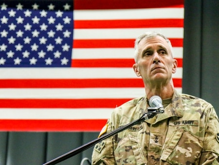 The Army's three-star general in charge of requirements is concerned the service won't have enough budgeted for modernization efforts to account for future hidden costs. (Staff Sgt. Sean Brady/U.S. Army)