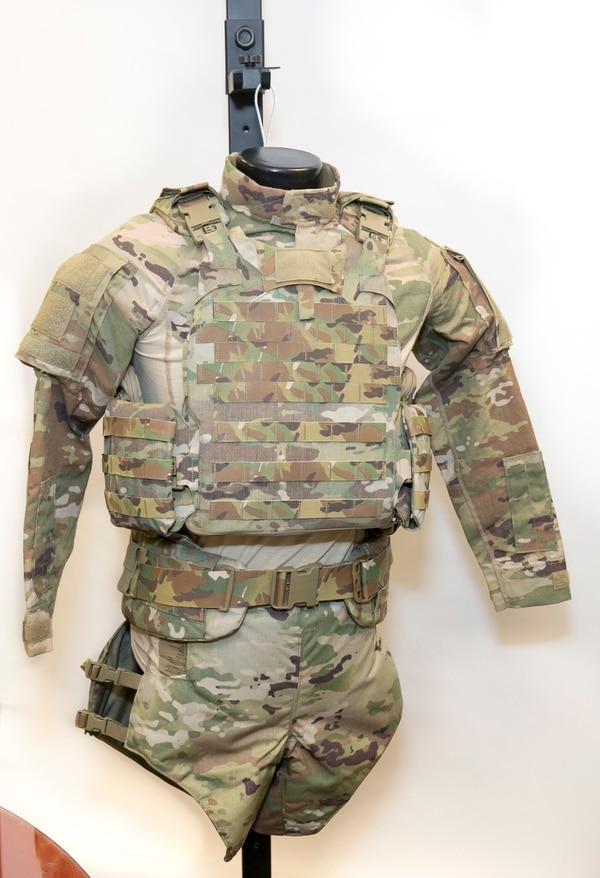 �ล�าร���หารู�ภา�สำหรั� U.S. Navy newest body armor