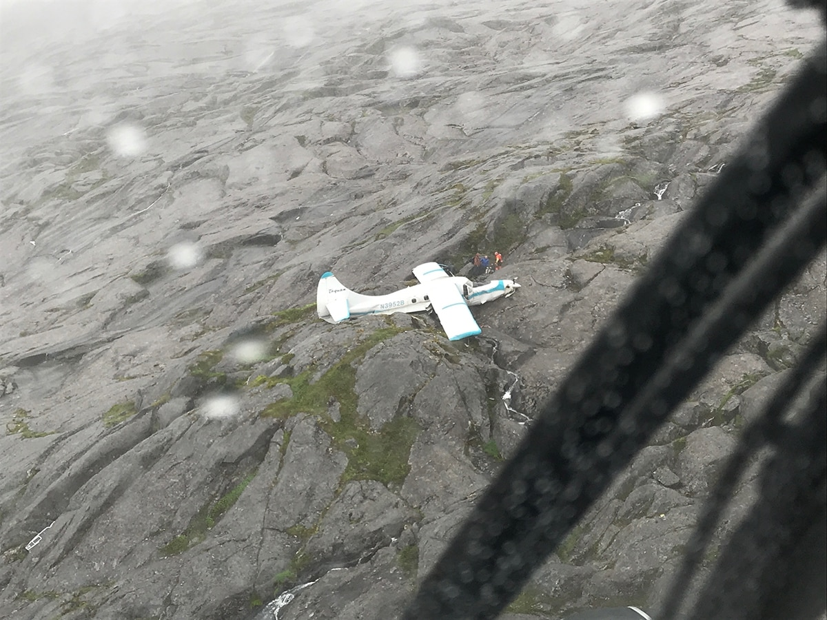 Plane crashes near Ketchikan with 11 aboard