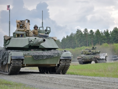 The Army is looking to modernize its tanks, buying back size, weight, and power lost during the wars in Iraq and Afghanistan as the Army focused instead on protective measures for the tank. (Spc. Nathanael Mercado/Army)