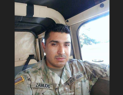 Sgt. Simon Zamudio, 34, passed away on May 22 from complications related to COVID-19.