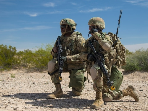 The Army is looking to leverage a variety of systems for incorporation to its tactical network. (U.S. Army photo by Sgt. 1st Class Darron Salzer, First Army Division East)