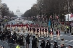 Trump says he's eyeing Veterans Day for military parade