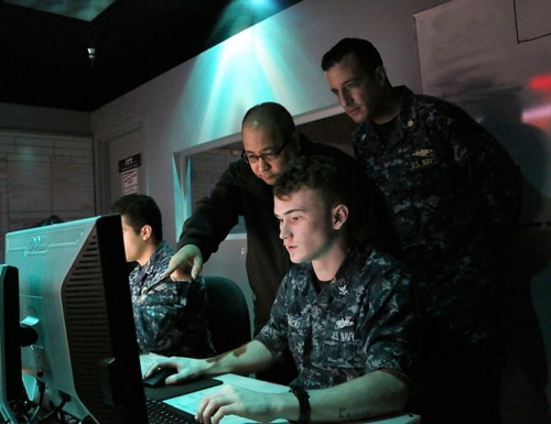 NIWC Atlantic and Pacific will host a virtual industry event June 8-11 providing industry with information on upcoming prototyping projects. (Lt. Camden Bennett/U.S. Navy)