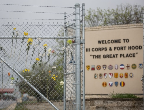 Human remains have been found in a shallow grave about 30 miles from Fort Hood, Texas, where Pfc. Vanessa Guillen disappeared on April 22. (Tamir Kalifa/AP)