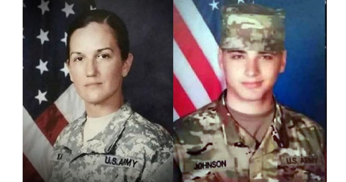 2 soldiers who were killed on deployment returning home to families