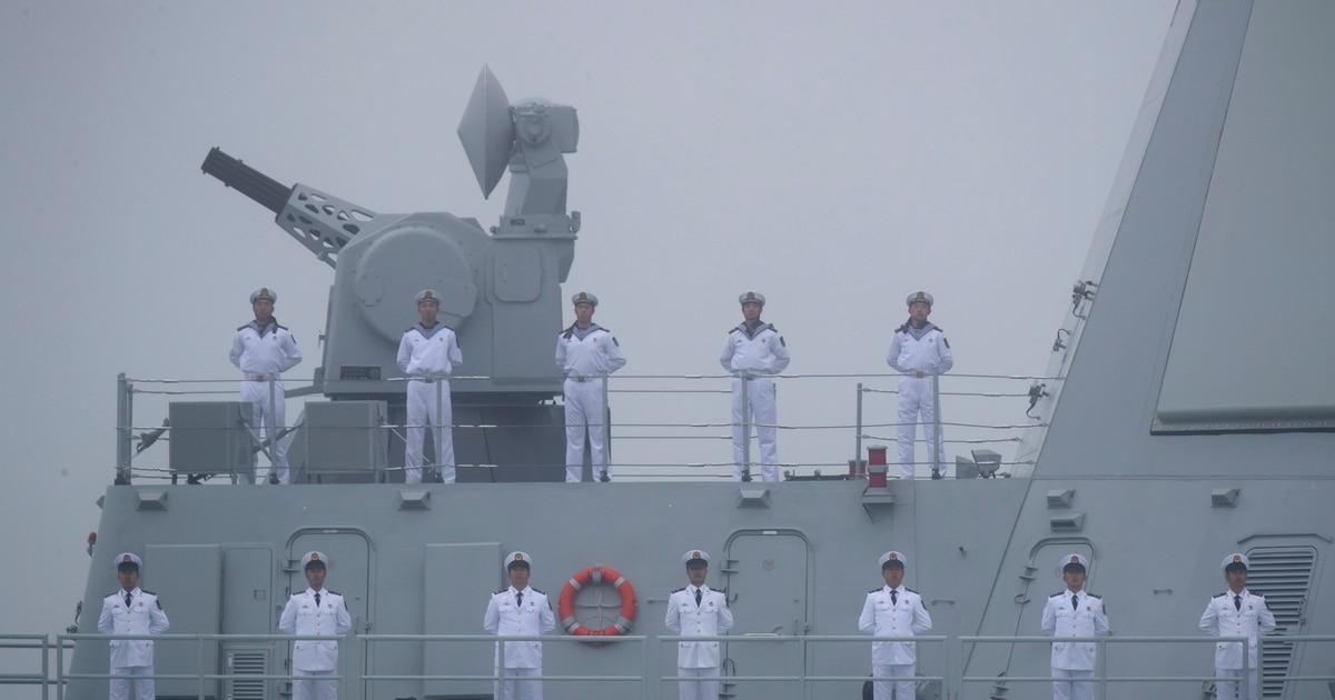 China boosts defense budget again, exceeding $208 billion