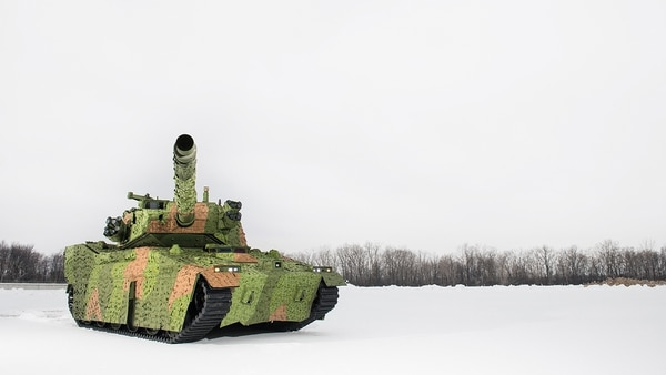 BAE System will build an M8 Buford Armored Gun System with new capabilities for its prototype for the Army's Mobile Protected Firepower vehicle. (BAE Systems)