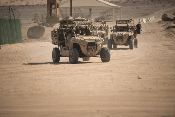 The MRZR has been deployed overseas, but has not seen any actual combat operations.