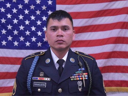 Staff Sgt. Diobanjo Sanagustin, a soldier with the 1st Stryker Brigade Combat Team, 4th Infantry Division, died Tuesday in a non-combat related incident in Afghanistan. (Army)