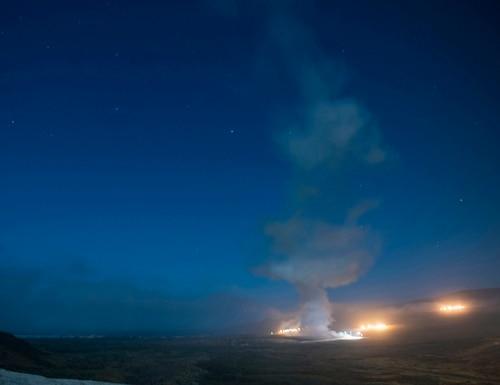 An Air Force Global Strike Command unarmed Minuteman III ICBM launches during an operational test Aug. 4, 2020, at Vandenberg Air Force Base, Calif. (Senior Airman Hanah Abercrombie/U.S. Air Force via AP)