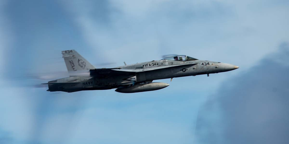 End of an era: Navy's legacy Hornets to fly off into the sunset