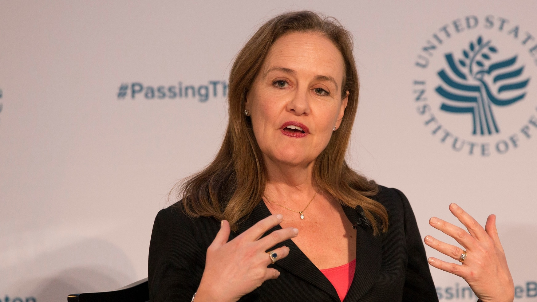 Flournoy founded the Center for a New American Security think tank and led it for several years. (Chris Kleponis/AFP via Getty Images)