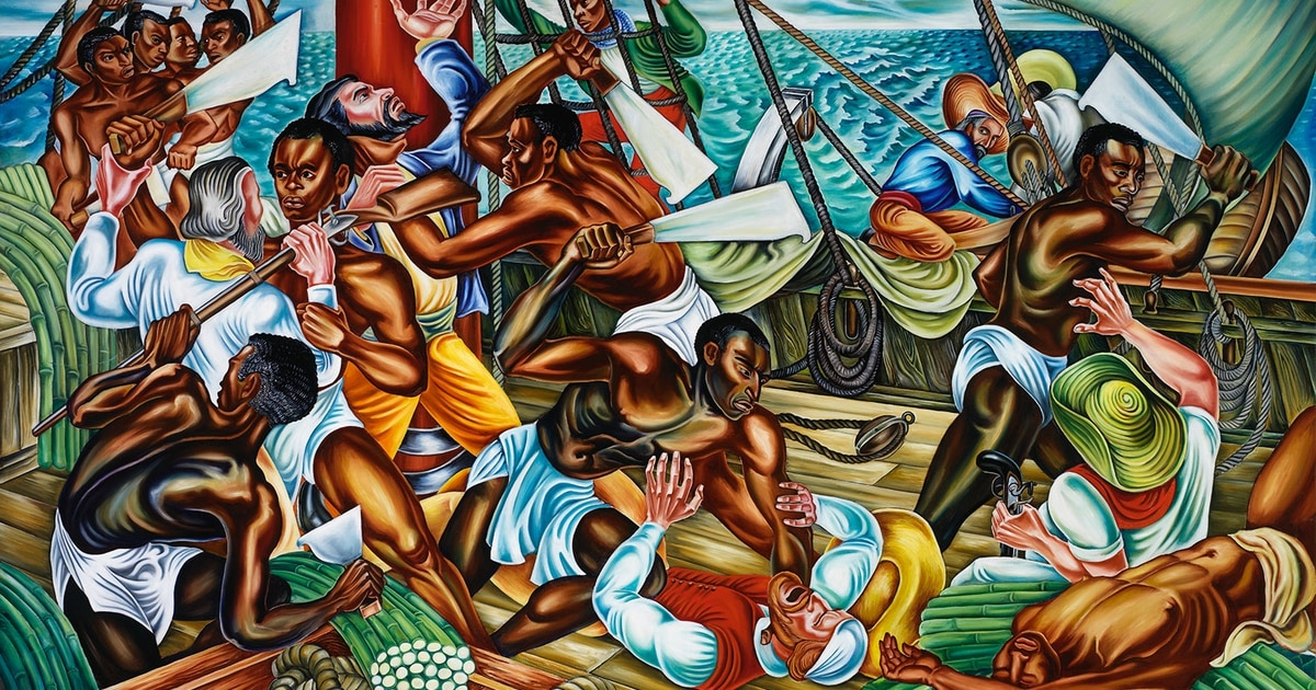 Mutiny on the Amistad: 'All we want is make us free.'
