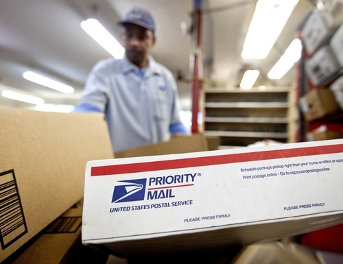 The USPS received a $10 billion loan under the government's pandemic rescue package, but Democratic lawmakers are seeking more funds for the agency. (David Goldman/AP)