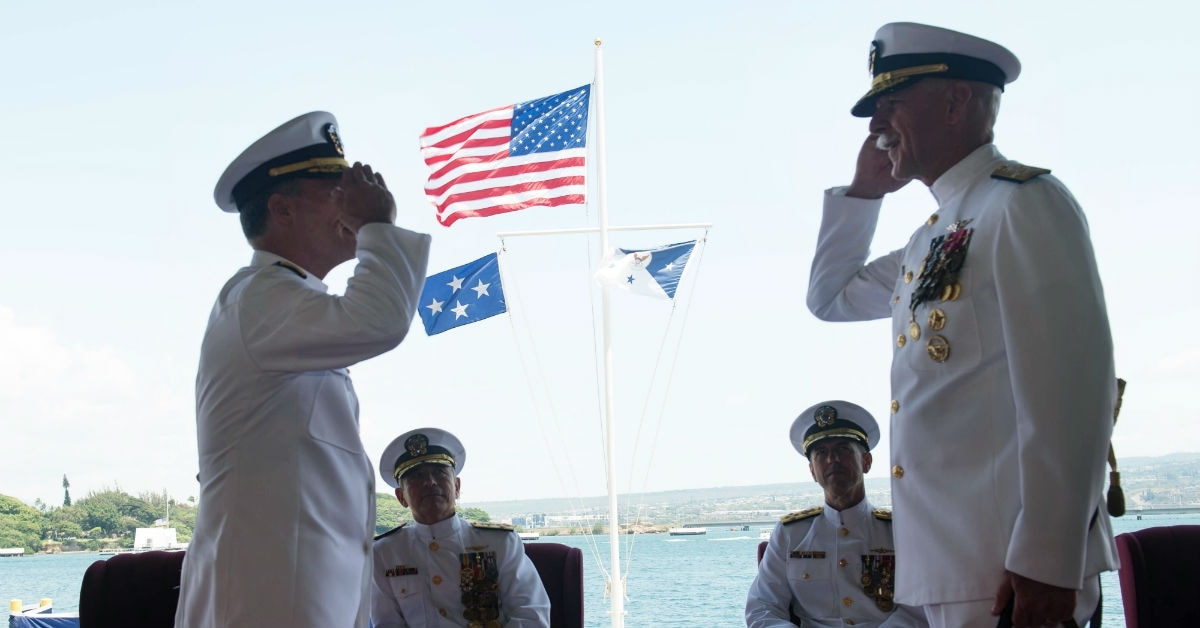 Aquilino takes over for Swift at US Pacific Fleet