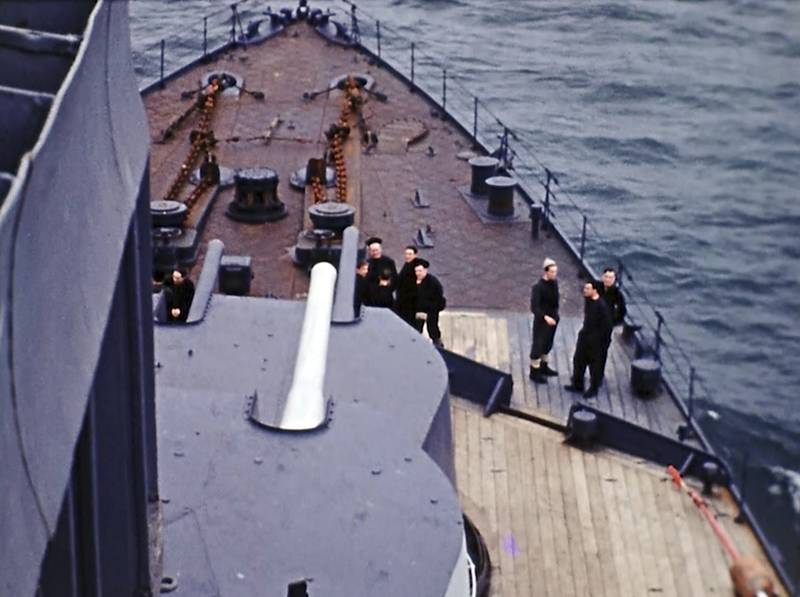 D-Day off the coast of France