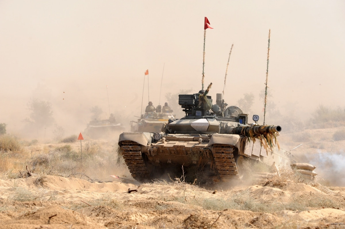 Image result for pics of Indian tanks on maneuver