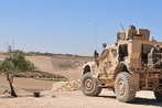US troops in Syria take fire from Turkish proxy fighters