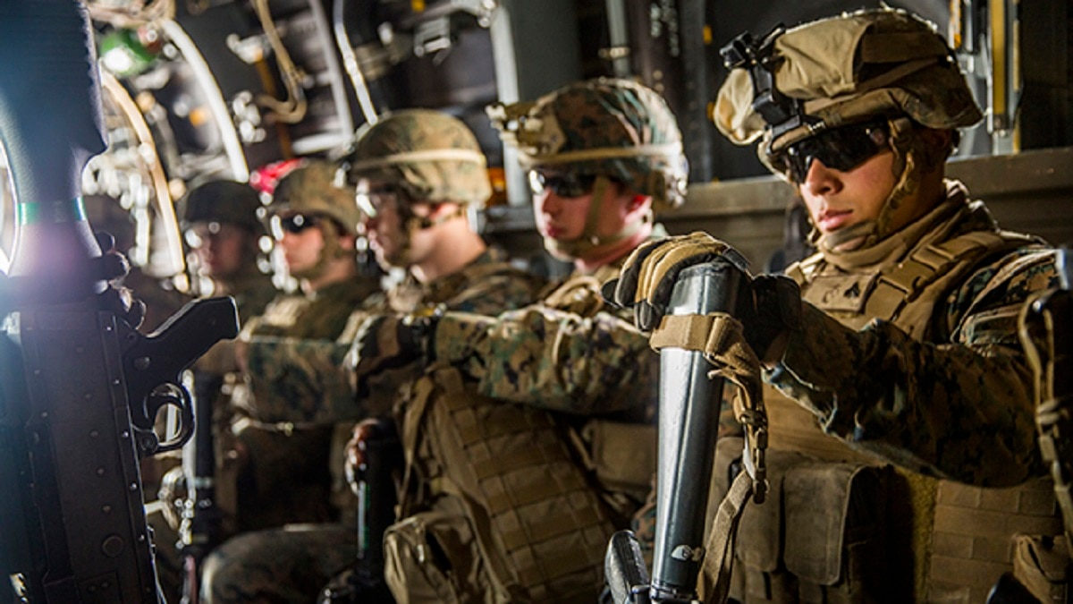 Using lessons learned, soldiers and Marines are training ...