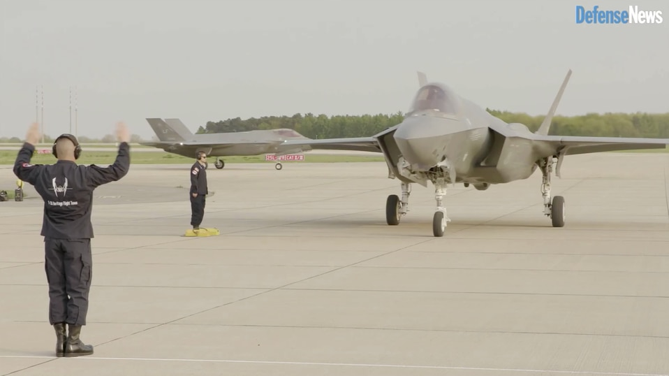 No stealth? No problem ― Eurofighter makes its pitch against F-35 in