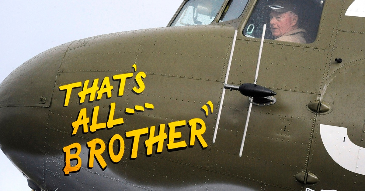 WWII plane rescued from boneyard to join D-Day anniversary