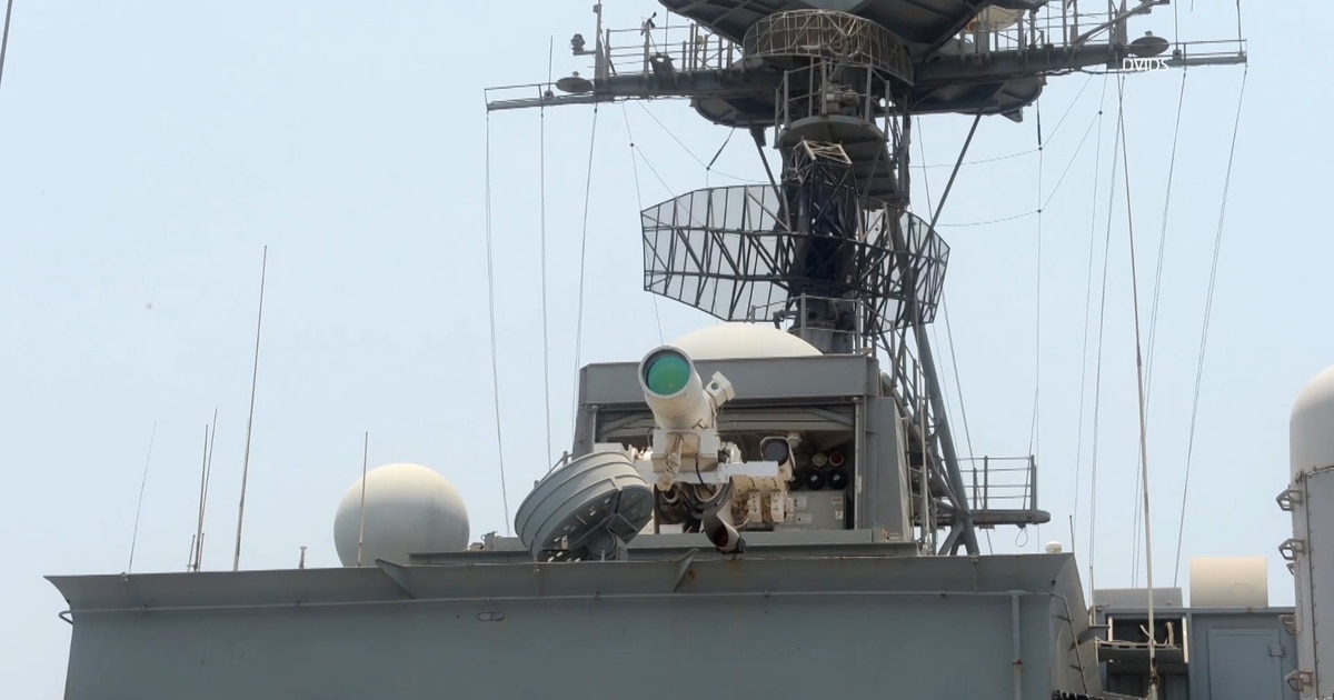 Navy Directs Energy On Laser Weapons