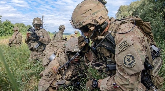 The operational community has given the Army's tactical network positive remarks, noting that while not perfect, it's 10 times better than what they had previously. (Pvt. First Class James Crowley/Army)