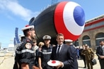 France launches first Barracuda-class nuclear attack sub
