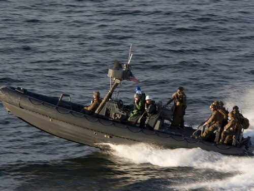 Top U.S. officials, including Secretary of State Rex Tillerson, and outside experts have advocated for maritime interdiction and a potential naval blockade to stop North Korea's subversion of sanctions. (Cpl. Juan A. Soto-Delgado/Marine Corps)