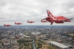 See Britain's Royal Air Force celebrate its 100th birthday with this huge flyover