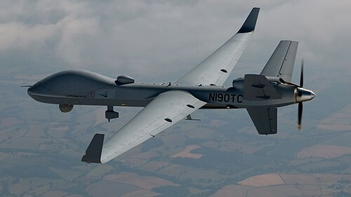 The British Royal Air Force's MQ-9B variant is called Protector RG Mk1. (General Atomics)