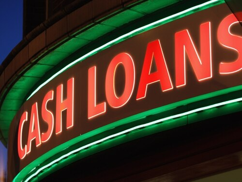 Advocates call for better enforcement of a law that protects troops from predatory lenders. (Dan Kitwood/Getty Images)