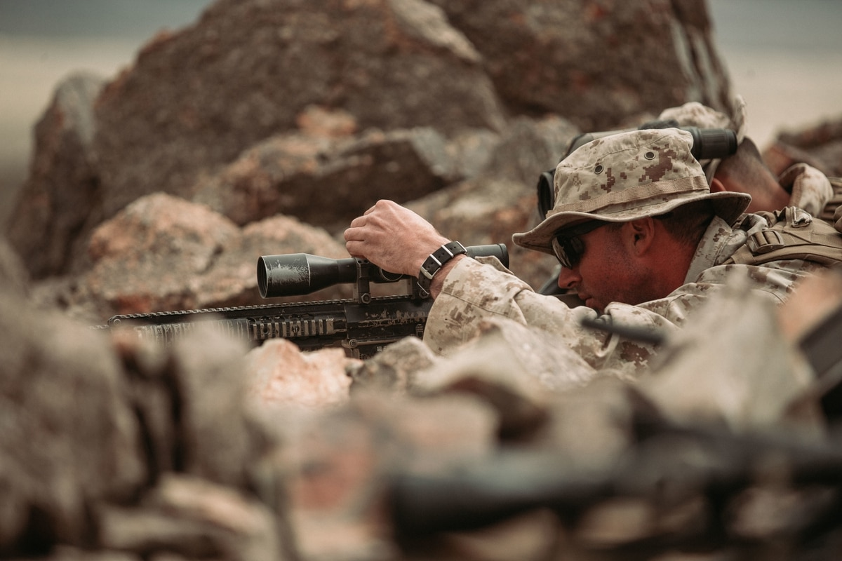 becoming a sniper in the air force