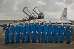 Meet the seven military men and women training to be NASA's next astronauts