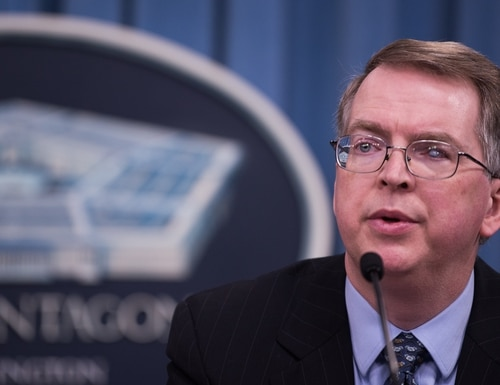 Deputy Defense Secretary David Norquist is a possibility to serve as acting defense secretary in the incoming Biden administration. (Sgt. Amber I. Smith/U.S. Defense Department)