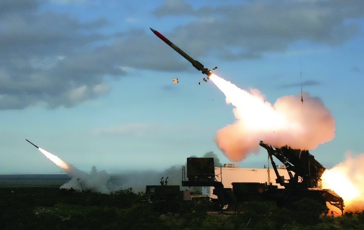 How many Missiles does a Patriot Battery have?