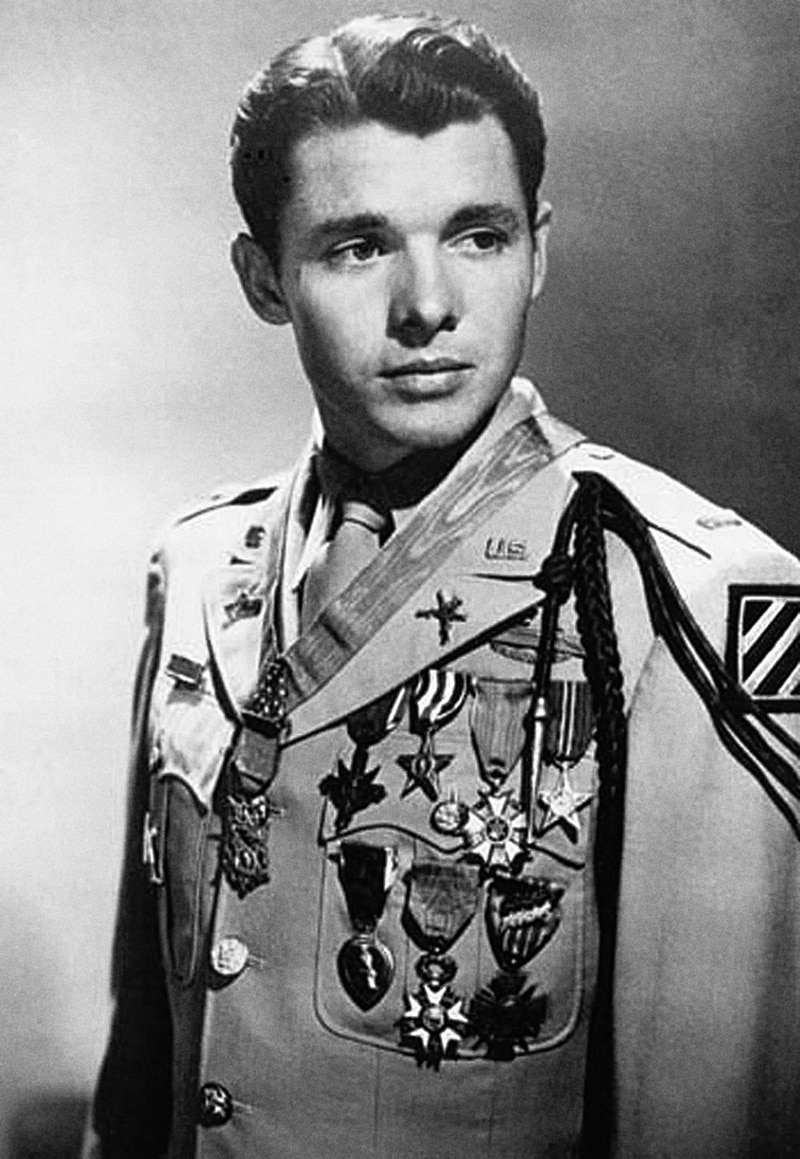 The Medal of Honor was Audie Murphy's 28th decoration. He had been awarded every other medal for valor in battle that the army had to offer, and several twice. (Army)