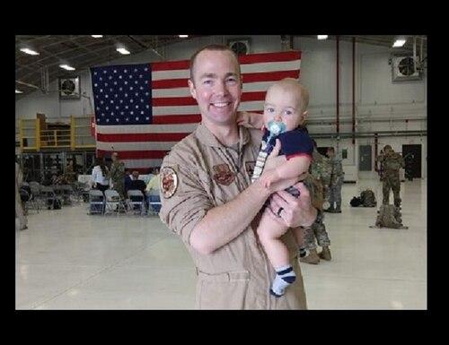 "Capt. Durwood ""Hawk"" Jones, 37, of Albuquerque, New Mexico, was killed in an F-16 crash in Michigan's Upper Peninsula Dec. 8, 2020. (Wisconsin Air National Guard)."